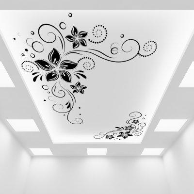 картинки с узорами на потолок бывают самыми разными